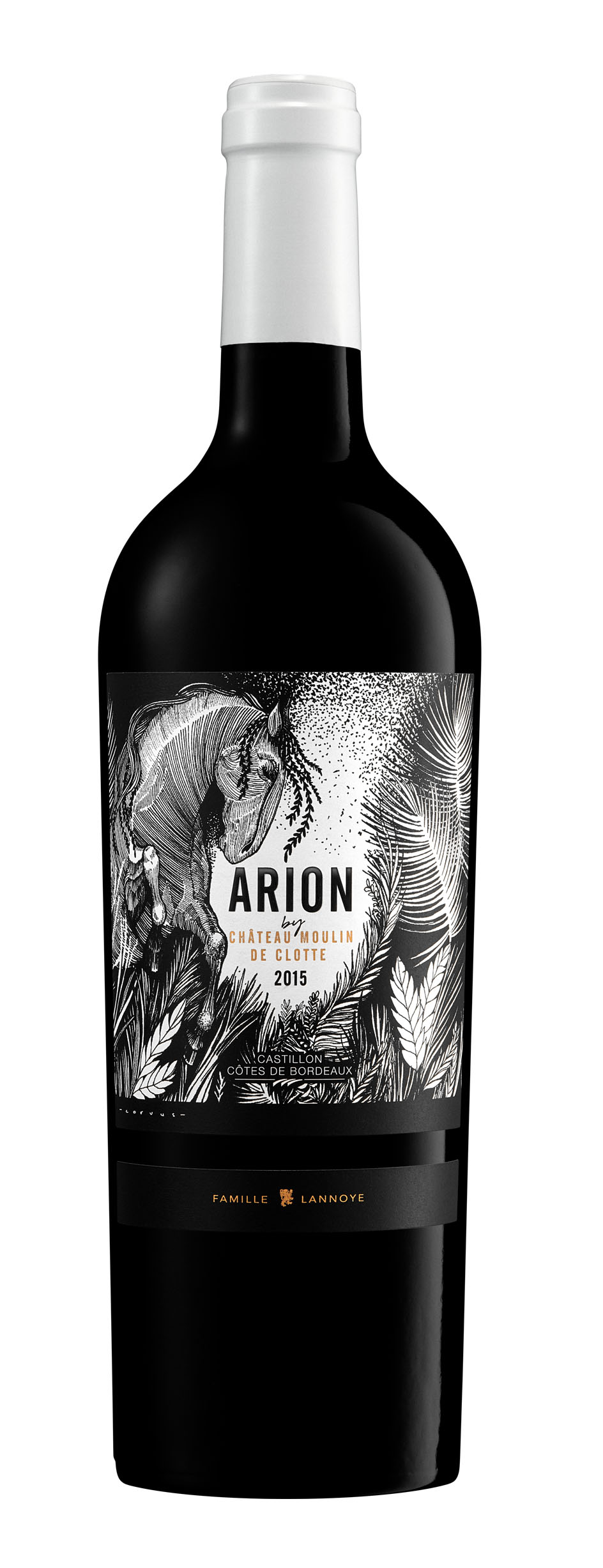 Arion by Château Moulin de Clotte – Castillon côtes de Bordeaux – 2015