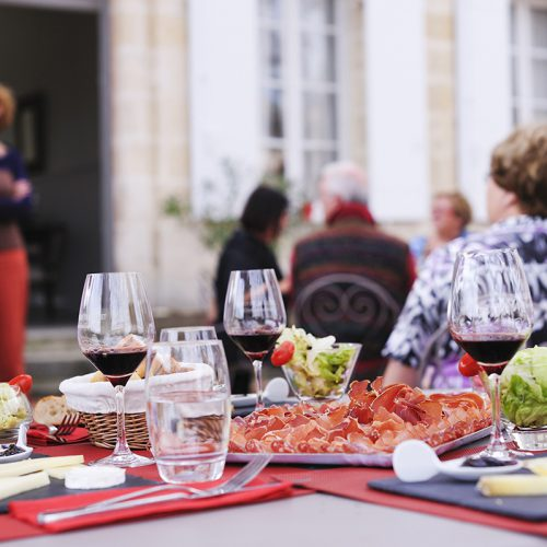 Lunch at the Château